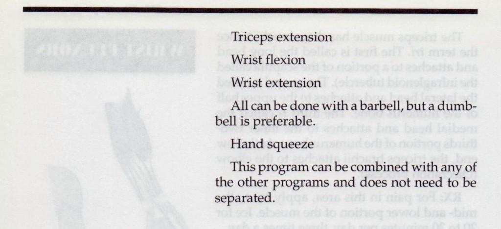 {Wrist Flexors & Extensors p130}