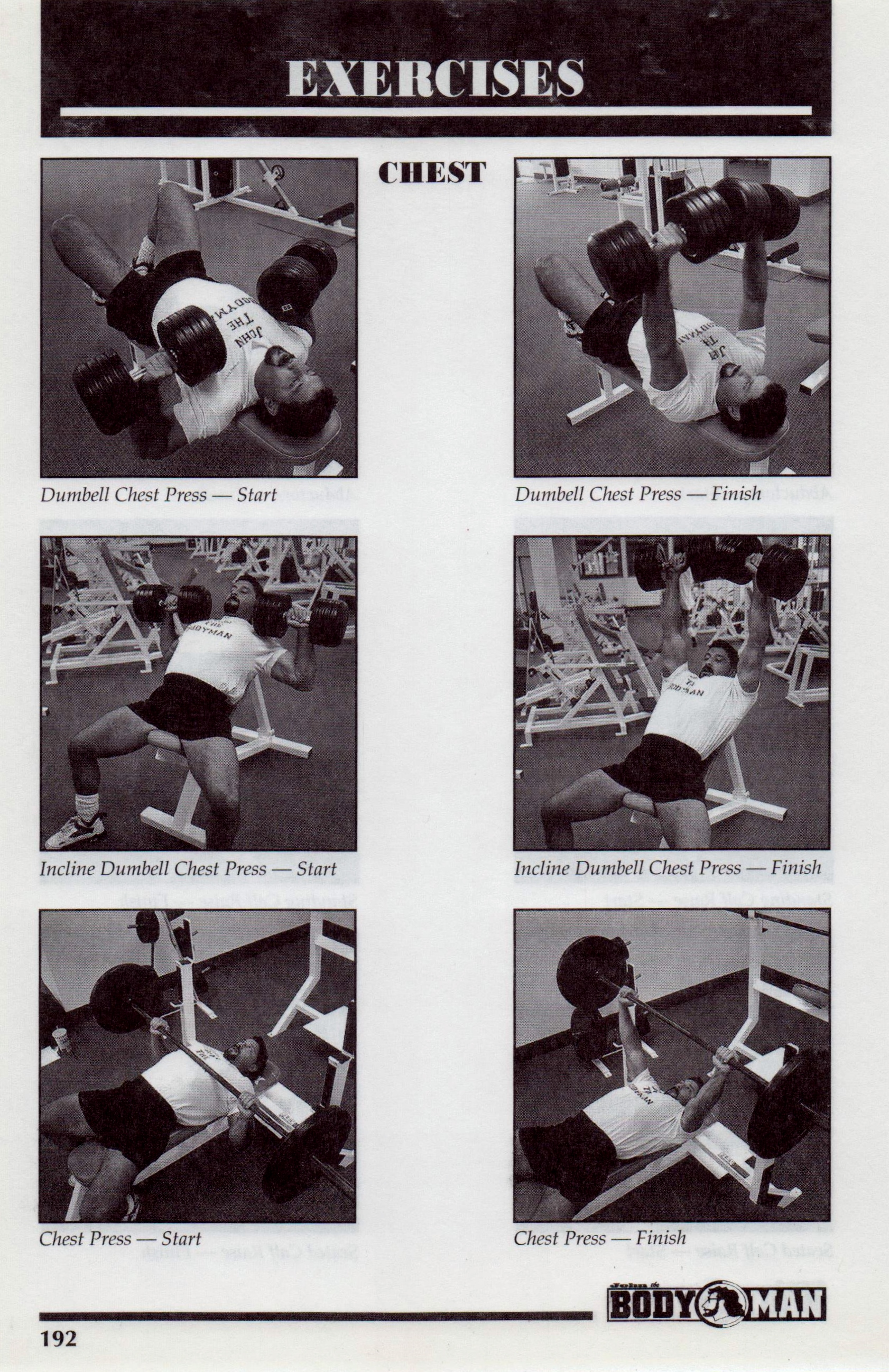 {Bodyman Chest Workout p192}